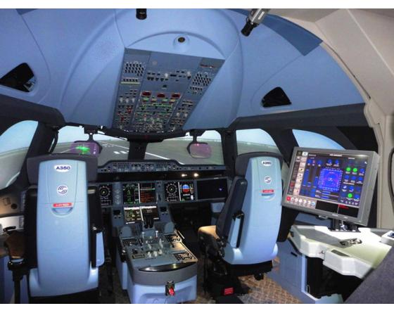 A350 flight simulator